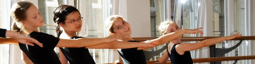 Tanzunterricht für Kinder und Jugendliche